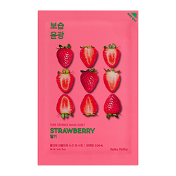 Holika Holika Pleťová maska Pure Essence Mask Sheet - Strawberry