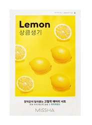 Missha Pleťová maska - Airy Fit Sheet Mask - Lemon