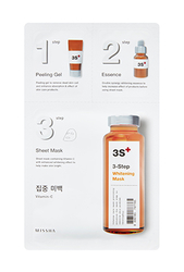 Missha 3step Whitening Mask