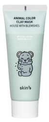 Skin79 Pleťová maska - Animal Color Clay Mask - Mouse with Blemishes  (70ml)