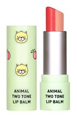 Tónující balzám na rty Animal Two Tone Lip Balm Peach Cat SKIN79