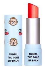 Tónující balzám na rty Animal Two Tone Lip Balm Cherry Monkey SKIN79