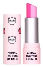 Tónující balzám na rty Animal Two Tone Lip Balm Strawberry Panda SKIN79