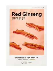Missha Pleťová maska - Airy Fit Sheet Mask - Red Ginseng