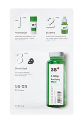 Missha 3step Purifying Mask