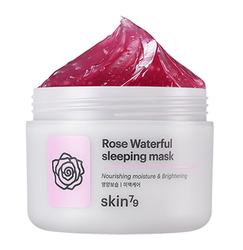Noční maska Rose Waterful sleeping mask (100ml)