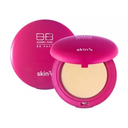 Pudr Hot Pink Sun Protect BB Pact SKIN79 (15g)