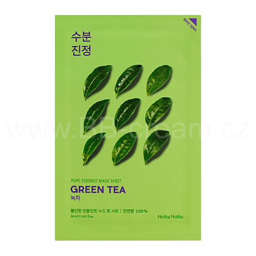 Holika Holika Pleťová maska Pure Essence Mask Sheet - Green Tea