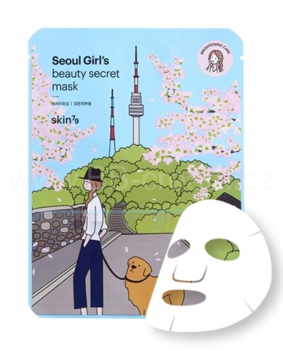 Pleťová maska - Seoul Girl´s Beauty Secret - Brightening SKIN79